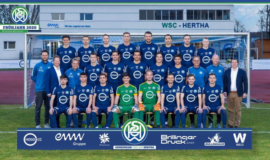 Frühjahrsfoto der WSC Hogo Hertha