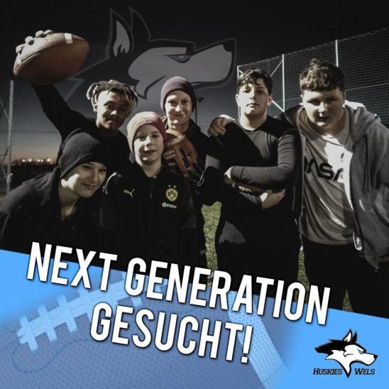 Huskies suchen Next Generation