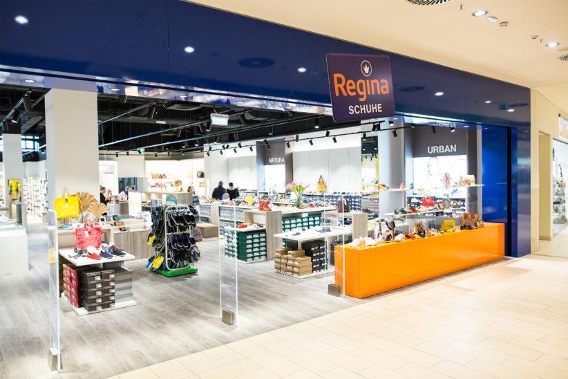 Regina Schuhe, Eröffnung des neuen Shops in der SCW Shoppingcity Wels