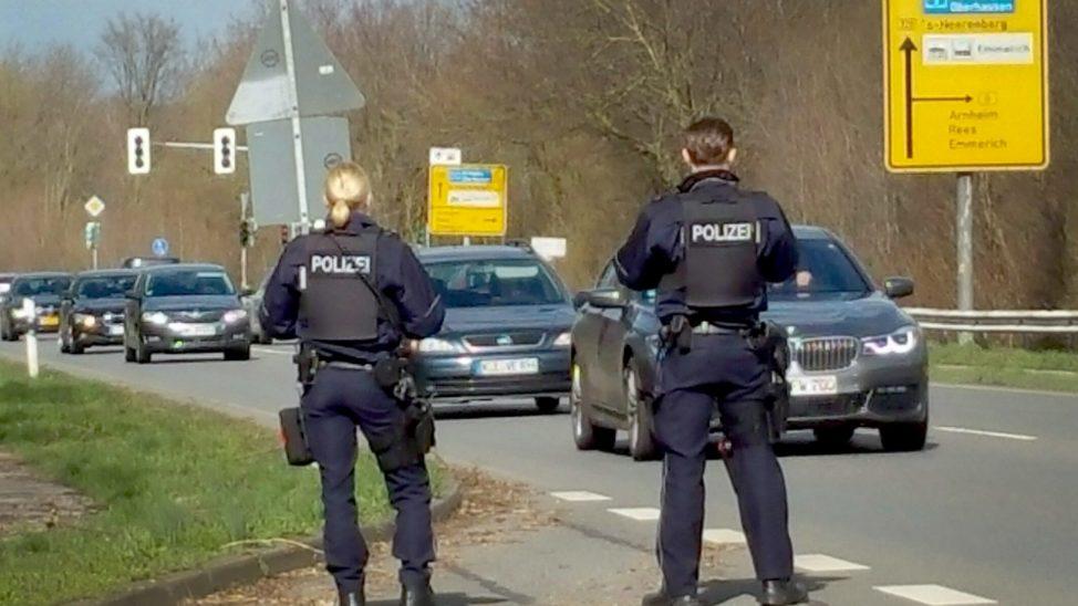 Deutschland schließt die Grenzen zu Österreich