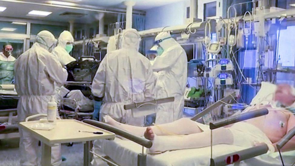 Italien: Mehr als 2.000 infizierte Sanitäter und Ärzte