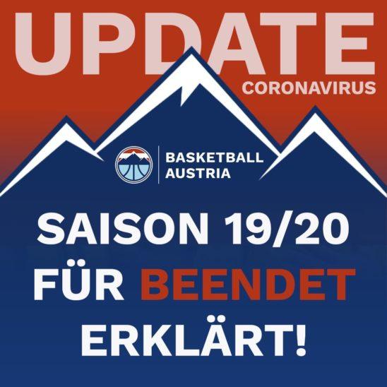 Basketball Saison zu Ende