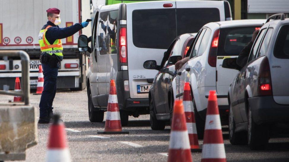 Dramatische Szenen am Grenzübergang Nickelsdorf