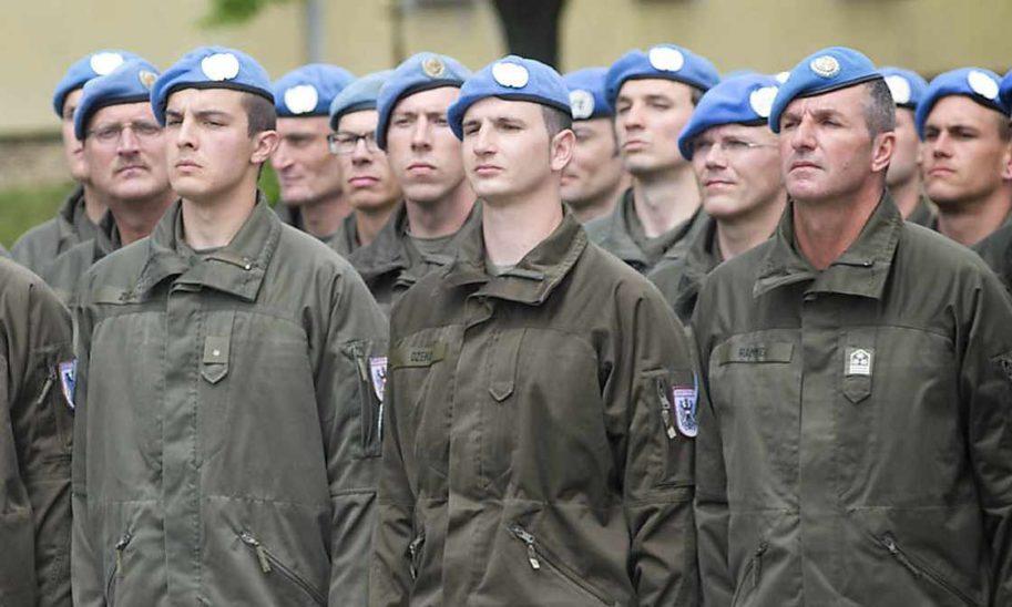 900 Soldaten im Einsatz