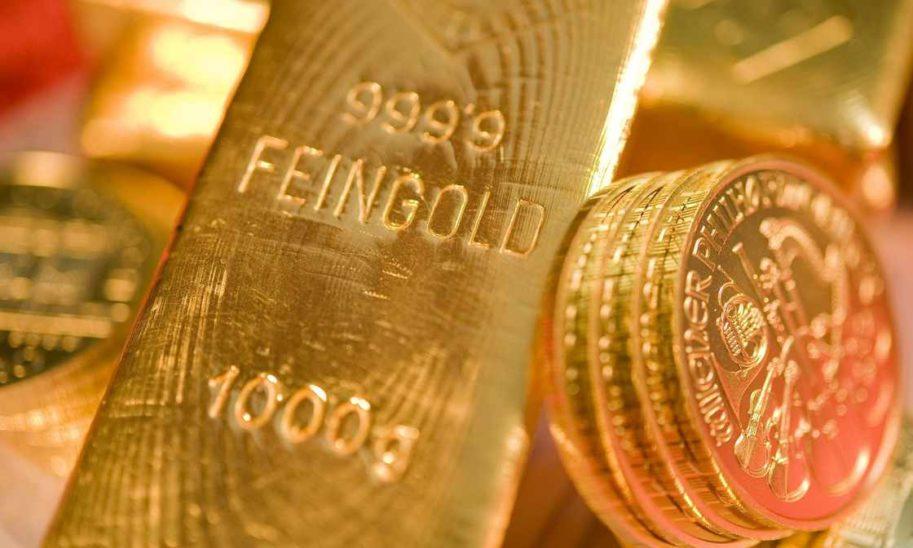 Sinkender Goldpreis