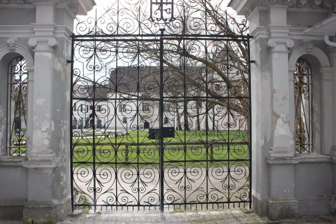 Burggarten geschlossen