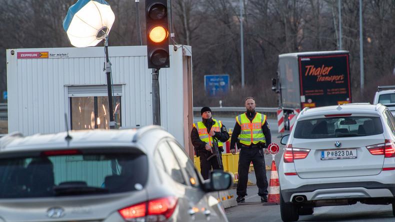 Ab Mitternacht auch Grenzkontrollen zu Deutschland