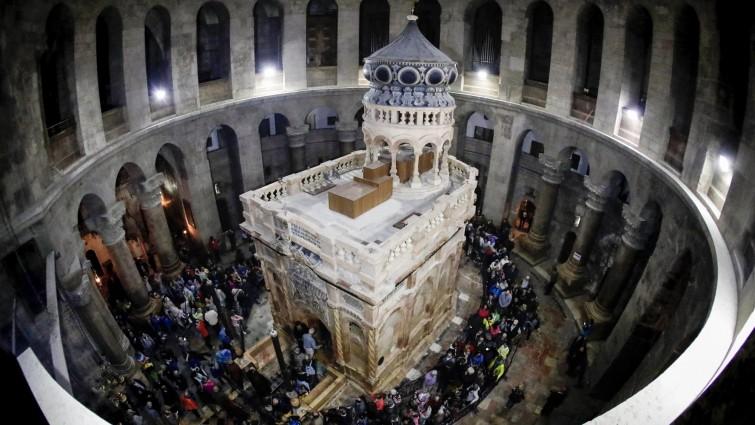 """Schließung der Grabeskirche in Jerusalem """"keine Option"""""""