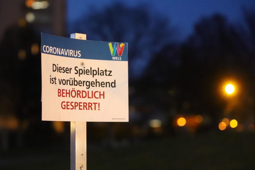 Covid-19: Verwirrung um gesperrte Spielplätze und Parks - Bisher 378 Infektionen in Oberösterreich