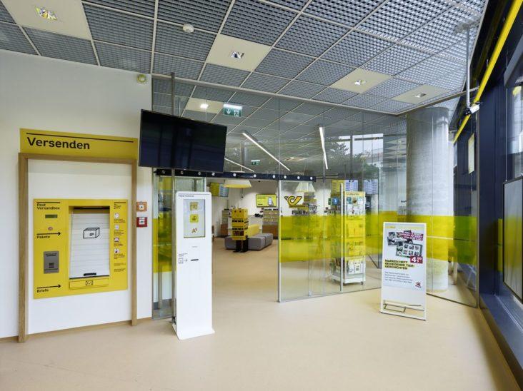 Post stattet Filialen mit Plexiglas-Trennwänden aus