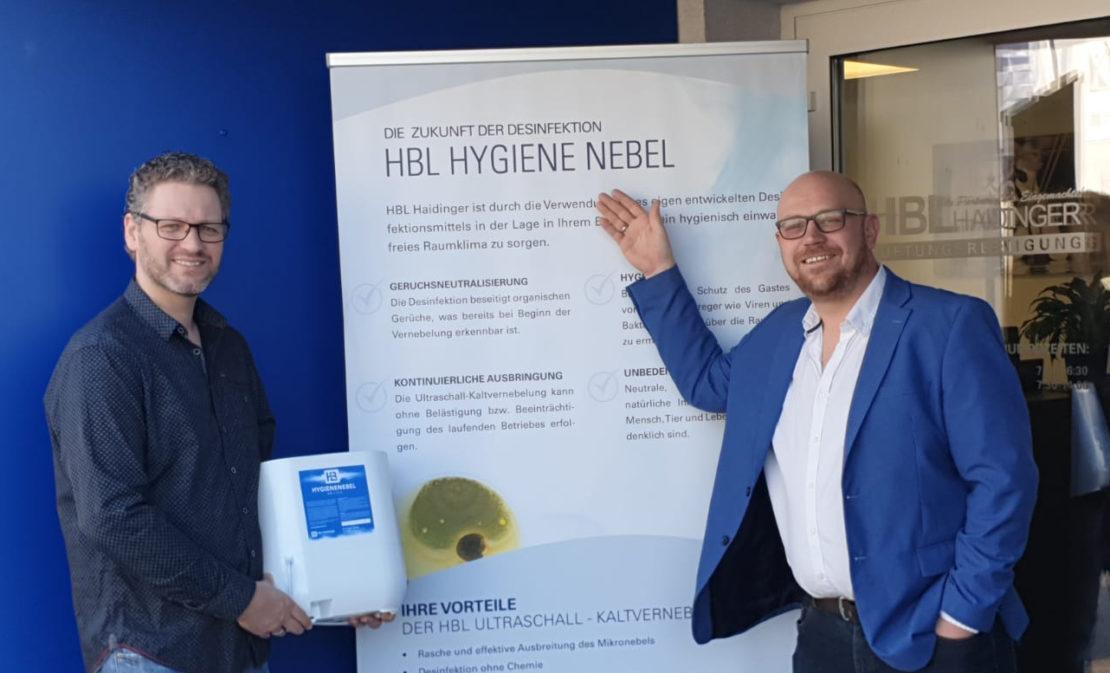 Hygienenebel gegen COVID-19: Buchkirchner Unternehmen präsentiert Präventiv-Lösung gegen Coronavirus