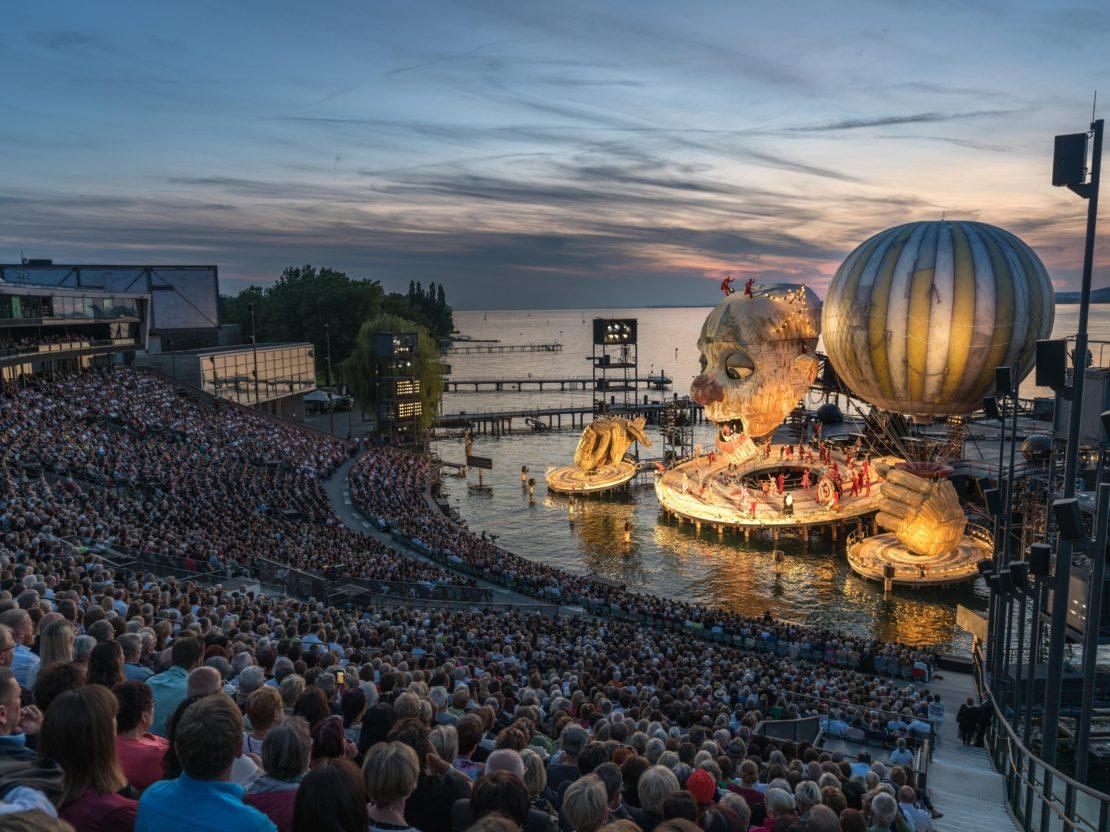 Bregenzer Festspiele vorsichtig optimistisch für Saison