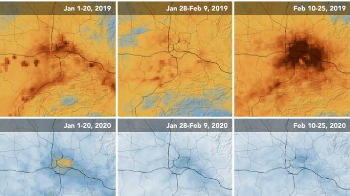 Bessere Luft durch Corona-Krise laut UNO nicht gleich Klimaschutz