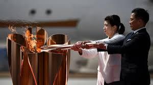 Japan: 50.000 Menschen beim Olympischen Feuer