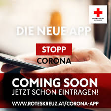 "Rotes Kreuz launcht heute die ""Stopp Corona""-App"