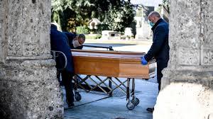 Todeszahlen in Bergamo um das Siebenfache höher