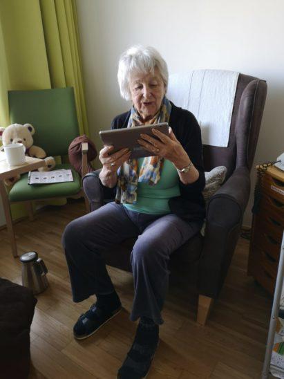 Tablets für Heimbewohner