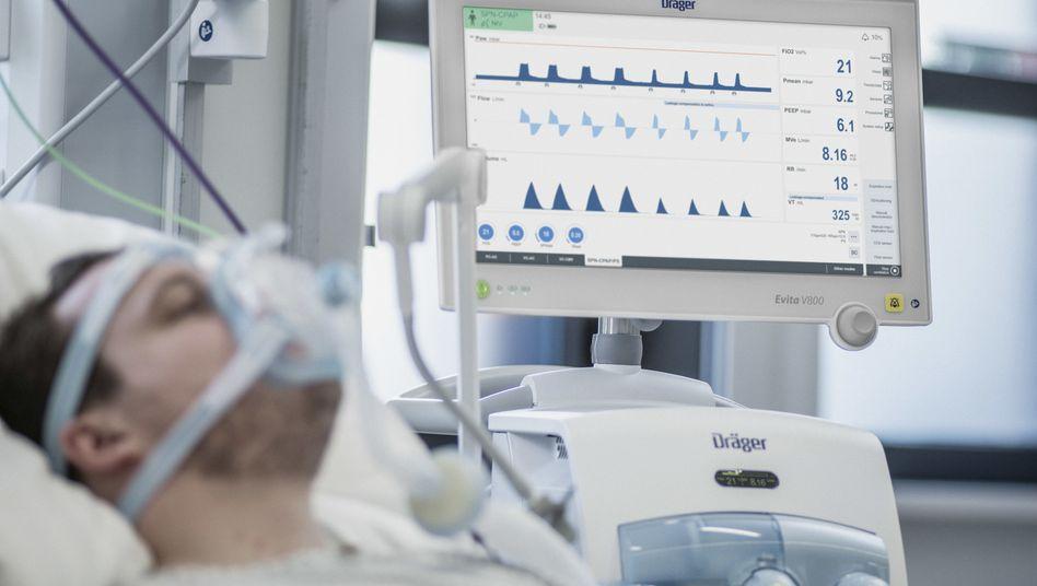 Rendi-Wagner warnt: In zehn Tagen gehen Beatmungsgeräte aus
