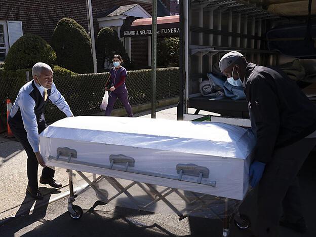 Mehr als 3.000 Tote in den USA durch Coronavirus
