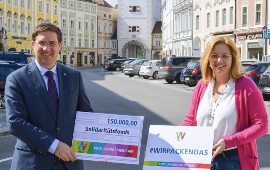 Solidaritäts Fonds der Stadt Wels