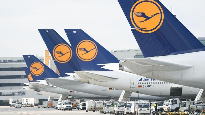 Lufthansa-Konzern schickt 87.000 in Kurzarbeit, 2/3 der Mitarbeiter