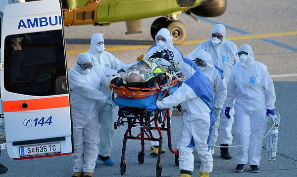 Erkrankte Franzosen zur Behandlung in Salzburg gelandet