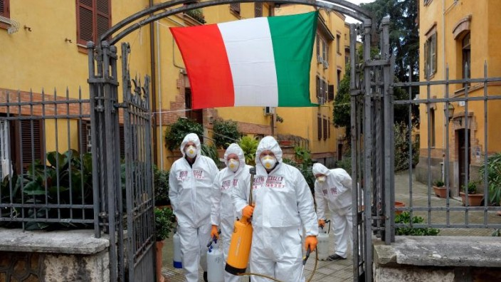 """Italien plant """"Phase 2"""" mit aufgelockerten Maßnahmen"""