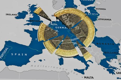 Unternehmensstimmung in der Eurozone brach auf Rekordtief ein