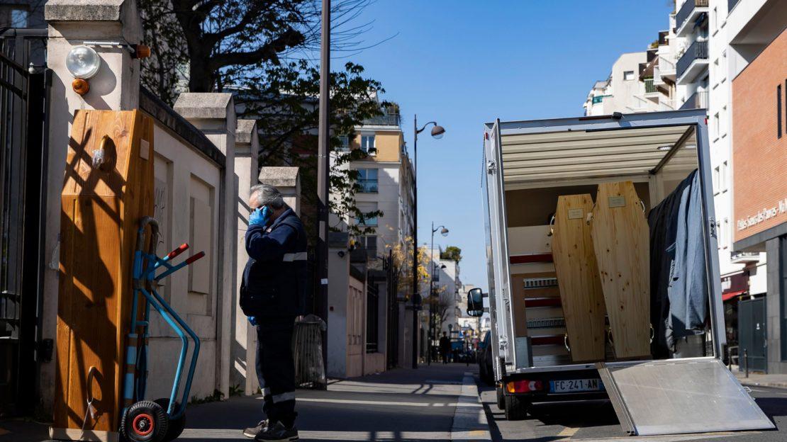 Frankreich meldete mit 588 neuen Höchststand bei Toten