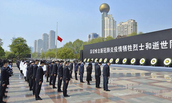 China trauert am Totengedenktag um Opfer der Pandemie