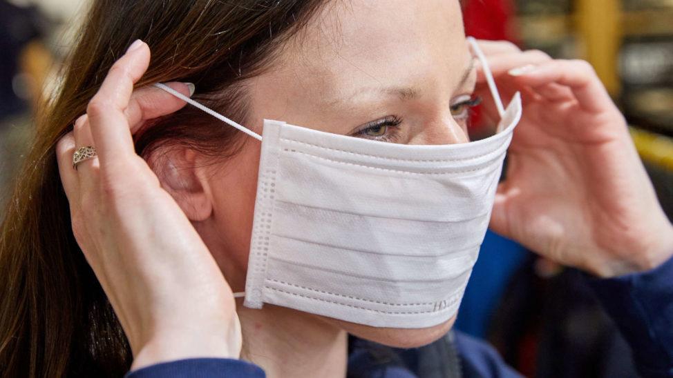 Ärztekammer für Schutzmasken im öffentlichen Leben