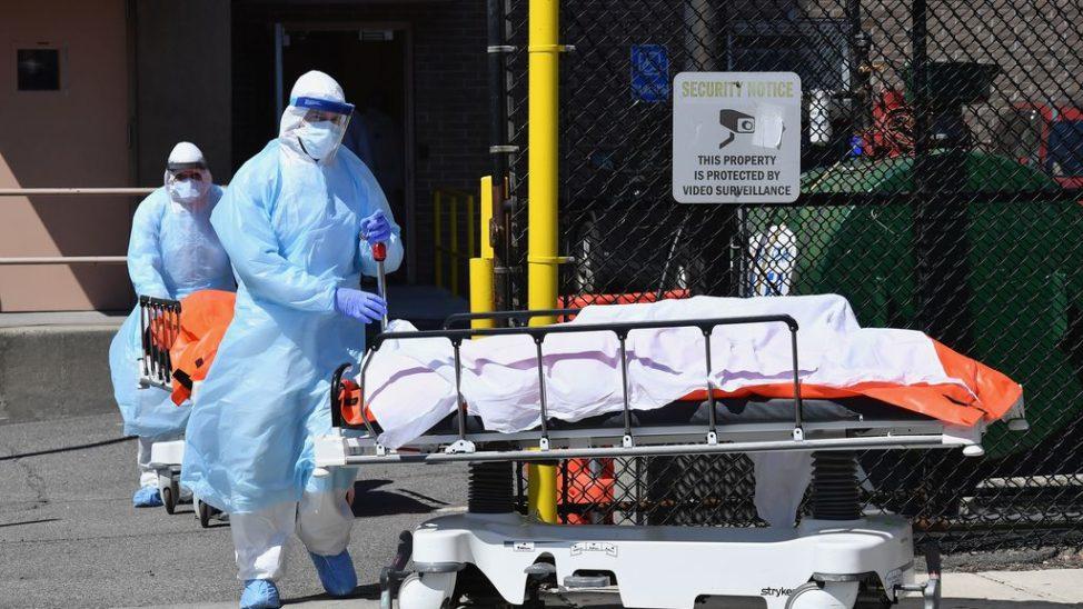 """""""Viele Tote"""" wegen Corona in USA"""