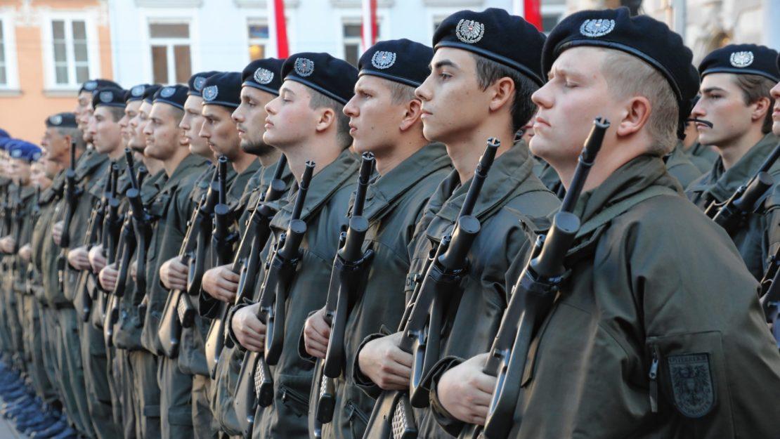 Milizsoldaten rücken ab 4.Mai ein