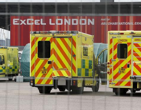 Mehr als 5.000 Tote in Großbritannien