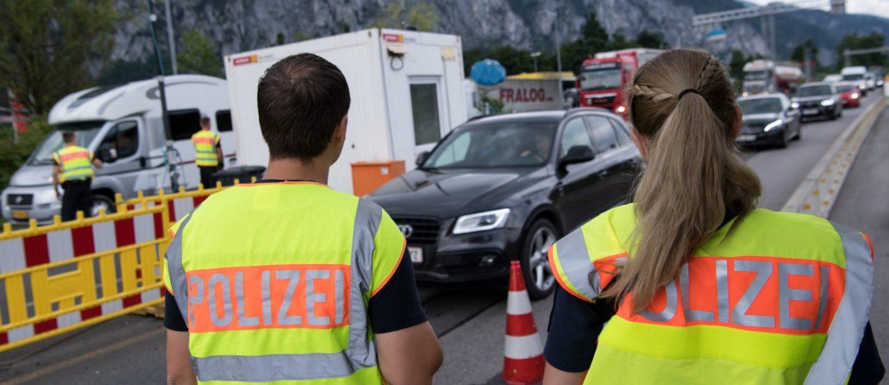 Grenzkontrollen bis 27. April verlängert