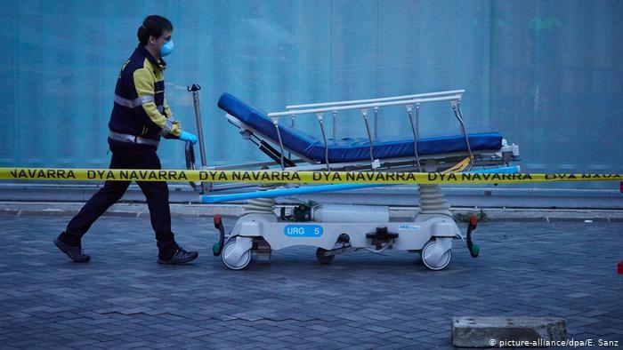 Spanien meldete wieder deutlichen Anstieg bei Toten