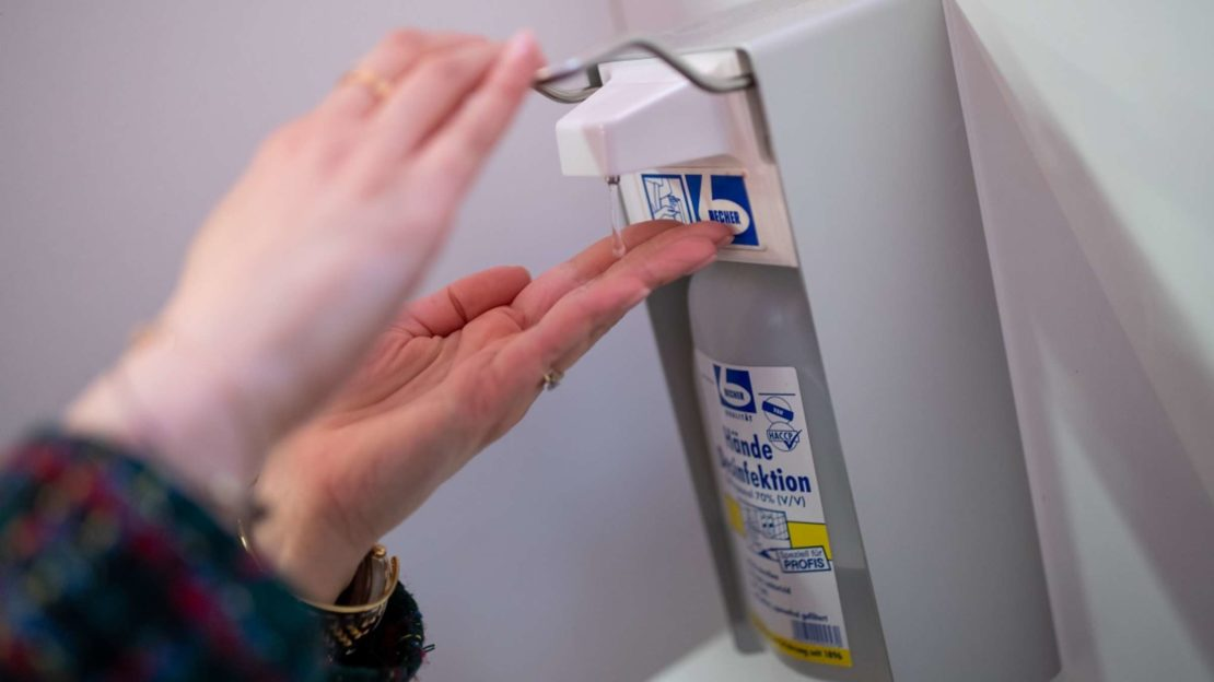 Österreich liefert Italien Desinfektionsmittel