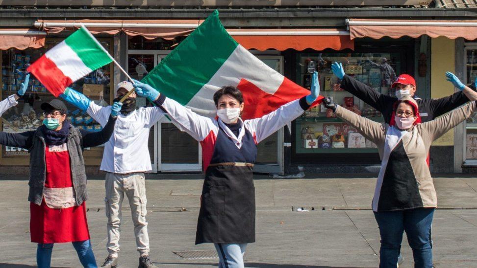 Epidemiekurve in Italien beginnt zu sinken