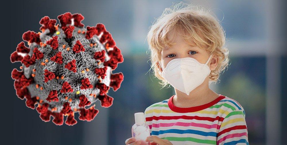 """Kinder selten von Coronavirus betroffen aber nicht """"gefeit"""""""