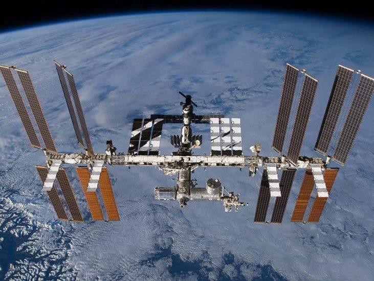 Drei Raumfahrer sind trotz Pandemie zur ISS geflogen