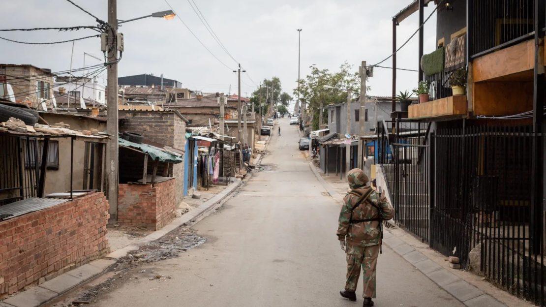 Südafrika verlängert Ausgangssperre