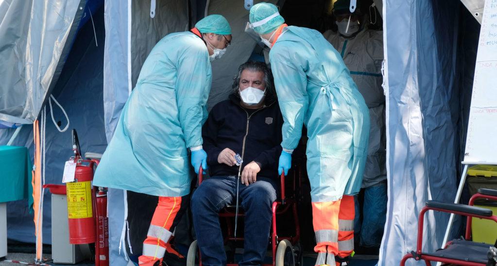 Ansteckungsrisiko in Italien um 45 Prozent reduziert
