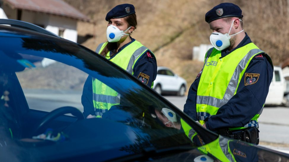 Polizei darf ab Samstag Organmandate ausstellen