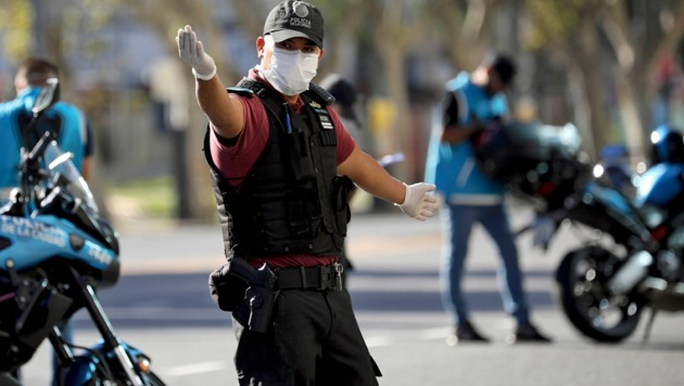 Ausgangssperre in Argentinien verlängert
