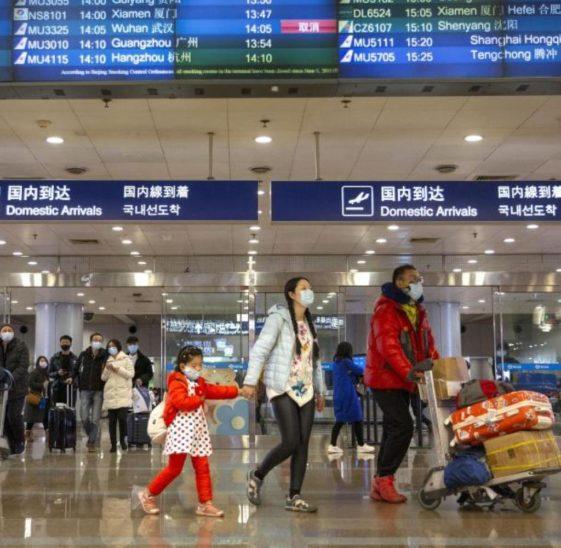 Reisende bringen Virus nach China