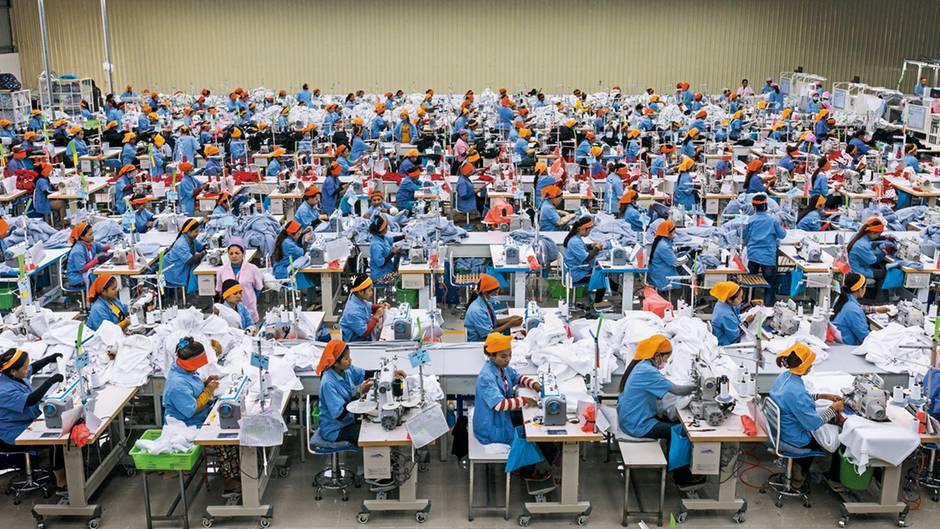 Modeketten streichen Aufträge in Asien
