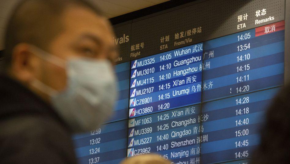 China meldet neuen Höchststand importierter Fälle