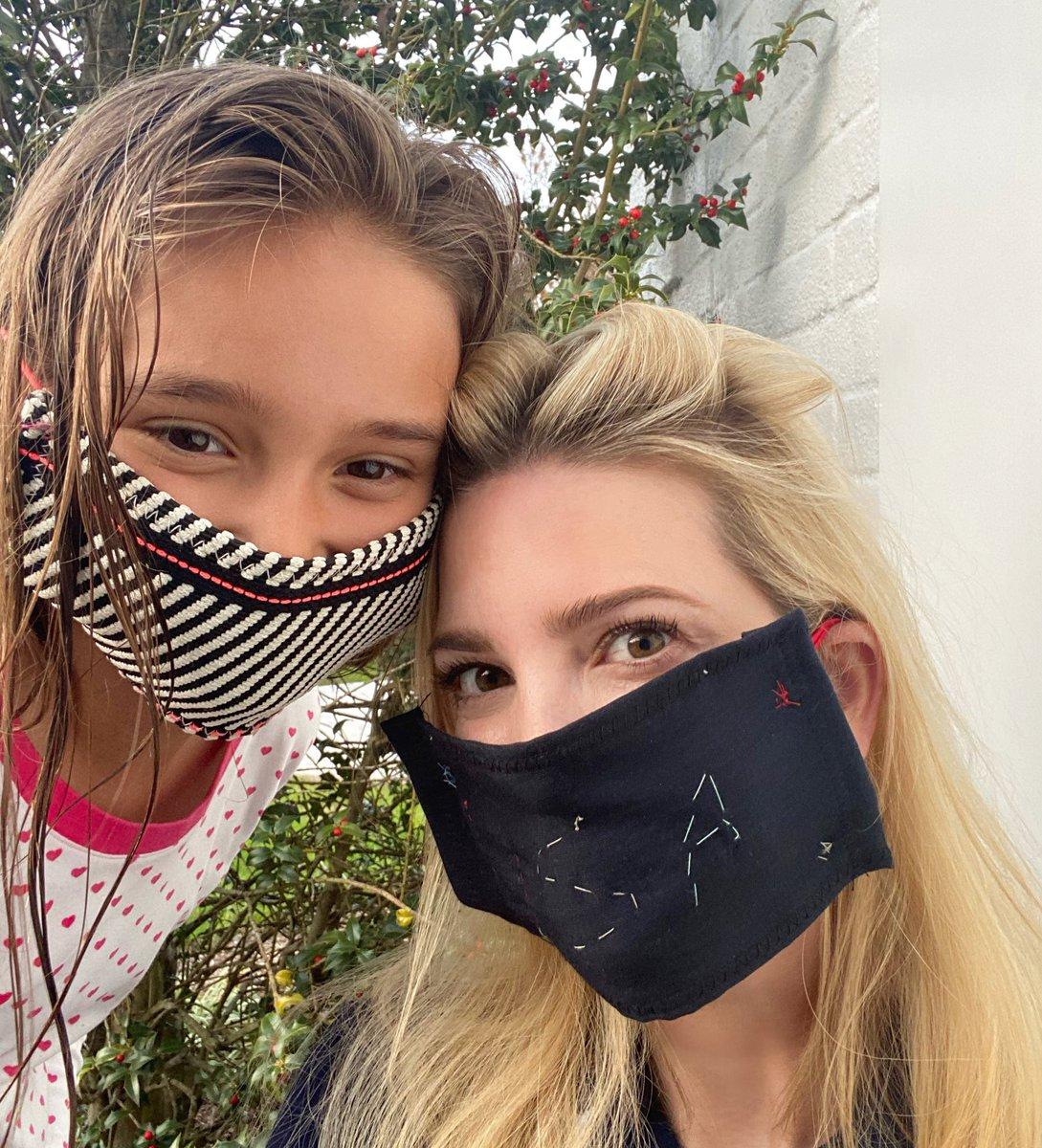 Ivanka Trump wirbt auf Twitter für Masken