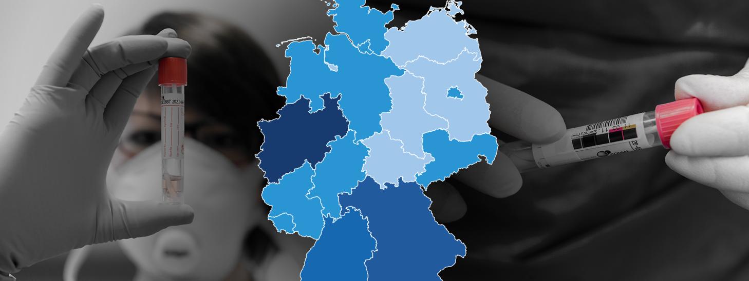Rund 2.500 Neuinfektionen und 126 Tote in Deutschland
