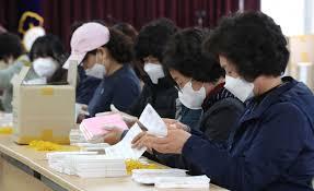 Rekordbeteiligung bei Parlaments-Vorauswahl in Südkorea